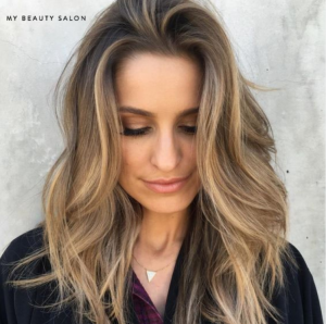 balayage hair color for women and men
